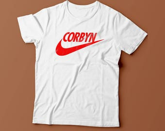 Jeremy Corbyn Labour Election Funny Unisex TICK Mens Womans Streetwear T Shirt New S - XXL *LIMITED!!!*