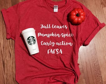 Fall School Counselor Shirt
