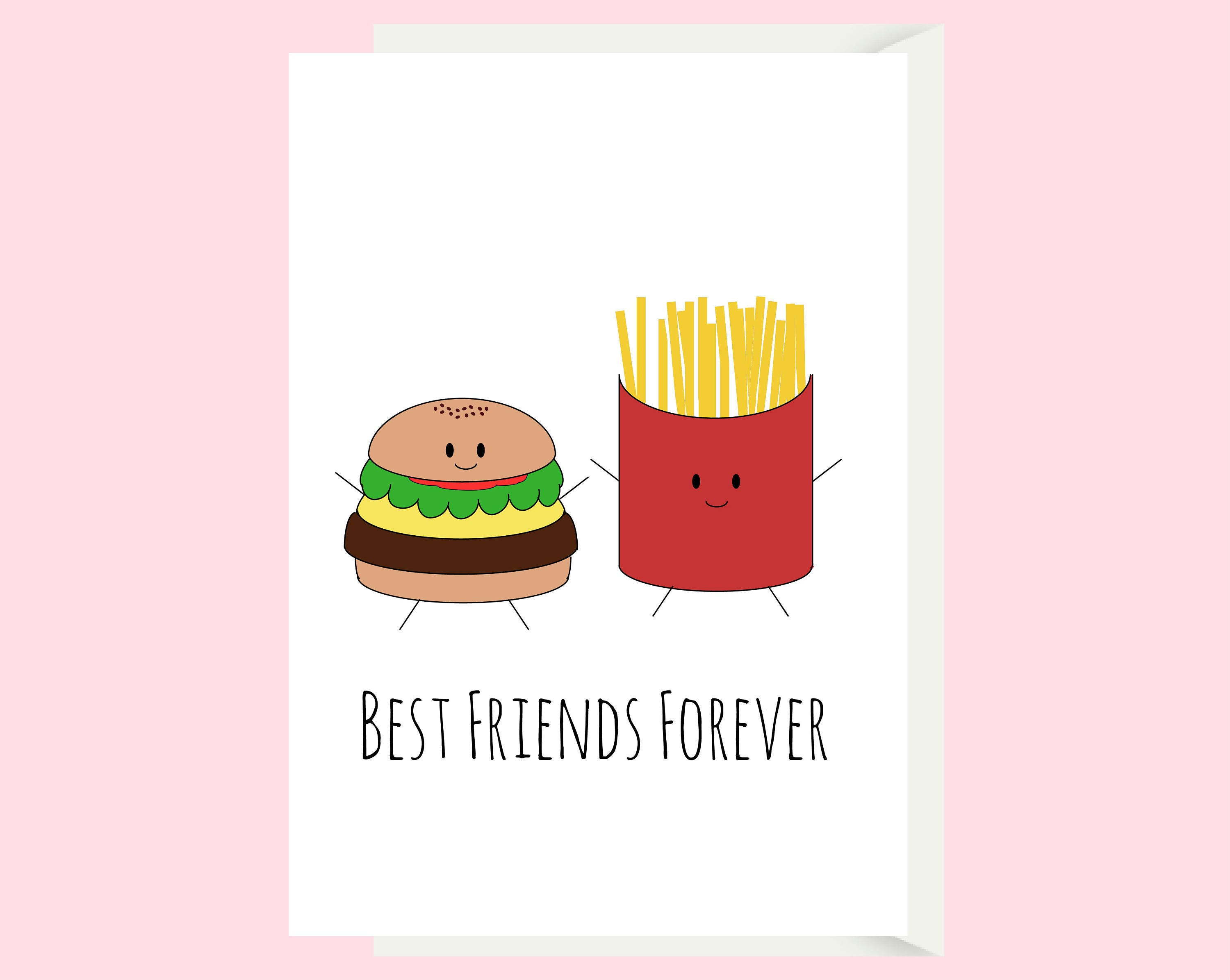 Funny Bra Best Friend Card Friend Birthday Card Girl