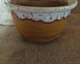 Caramel Drip Glaze Pottery