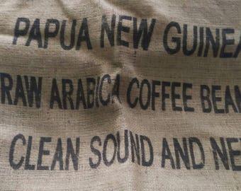 Papua New Guinea Coffee Bean Bag