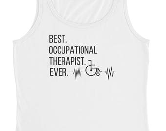 Occupational Therapy Tank Top, OT Gifts, OT Professor, OT Women's Tank Top