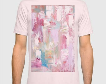 Men's Tshirt, abstract art Tshirt in various colors, FREE Shipping !