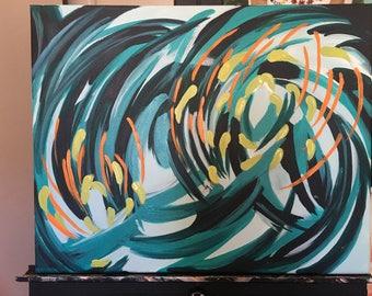 Original art-abstract
