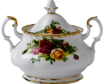 Royal Albert Old Country Roses Lidded Sugar bowl