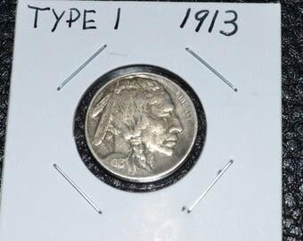 First Year Buffalo Nickel