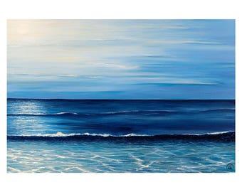 Art - Waves - Estepona - 347 x 250mm