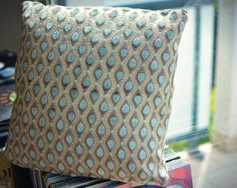 """""""Peacock"""" pillow cover"""