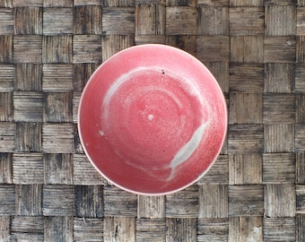 Matte red ceramic plate, porcelain, home decor, crockery, decoration, cooking, tableware, fruit bowl, stoneware, serving platter, organic