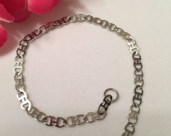 For Lady's stainless steel bracelet