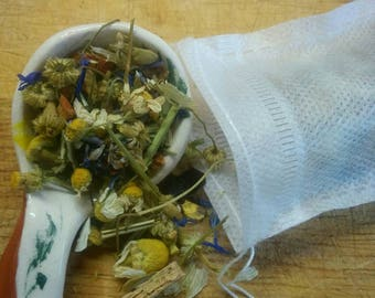 Tea, Countryside Chamomile, loose leaf tea, hand blended, relaxing, herbal, Perfect gift for tea lover/foodie