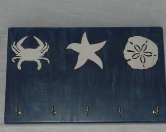 Tri Sea Creature Key Hanger