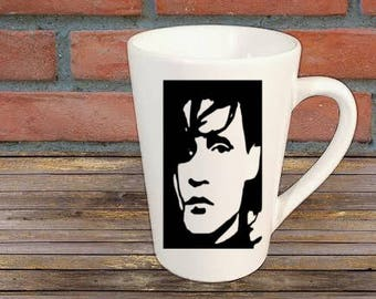 Edward Scissorhands Horror Mug Coffee Cup Halloween Gift Home Decor Kitchen Bar Gift for Her Him Any Color Custom Merch Massacre