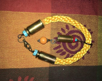 Braided Bullet Jewelry bracelet