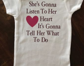 Listen To Her Heart (Tom Petty) Onesie