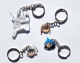 Soul Eater Keychains