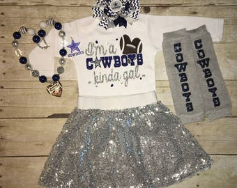 Dallas Cowboys, Dallas Cowboys Toddler, Cowboys bodysuit/Tee, toddler girl cowboys outfit