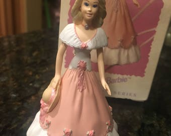 Keepsake Springtime Barbie Ornament