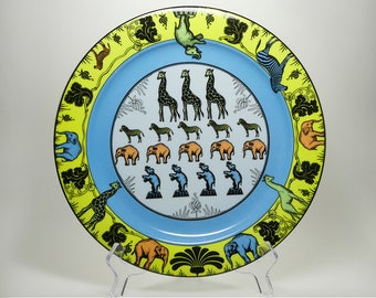 Dinner Plate * FATA MORGANA * from the Series PARADISE by Suisse Langenthal, Made in Switzerland