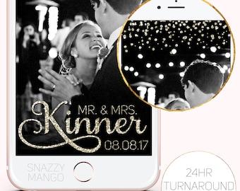 Champagne Wedding Geofilter, Glitter Geofilter, Wedding Snapchat Filter, Wedding Geofilter, Champagne Wedding Geofilter, Glittery Geofilter!