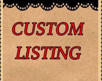 Custom List for Rachel !