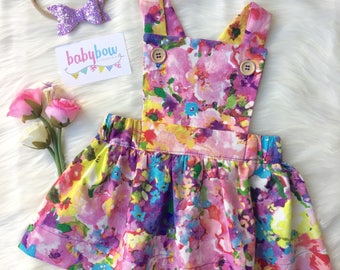 Ava Pinafore dress (Pinny dress)