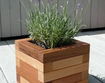Cedar Outdoor Planters