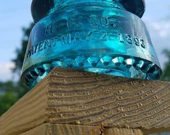 Hemingray Glass insulator