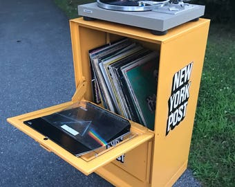 Record Player Stand - New York Post