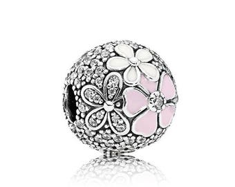 Pretty and Pink Floral Charm