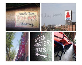 Fenway Park Five Pack of Photographs