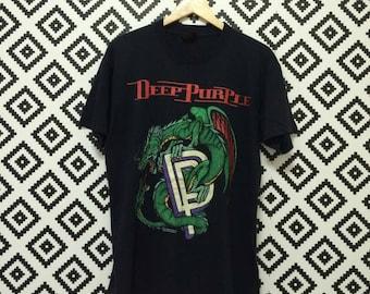 Rare!! Vintage Deep purple world tour 1993.vintage band.rockband.legend band