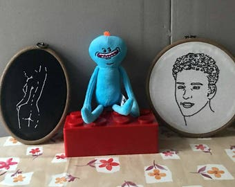 Rick and Morty Mr Meeseeks plush