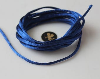 5 Metters jewelry sewing notions - royal blue rat tail cord