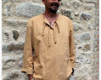 Men's Cotton Tunic ideal for the half seasons
