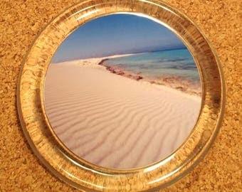 Coastal Coaster BP-1 Sandy Beach