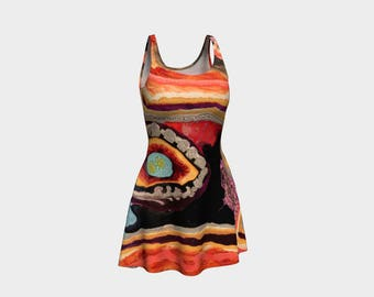 Iwild Ladies Flare Dress