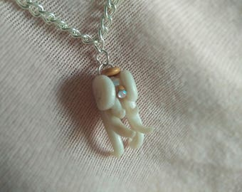 Angelic Pearl - Baby Angel Pendant - Sky Lovers