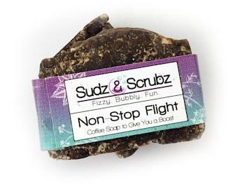 Coffee Soap, Body Soap, Non-Stop Flight