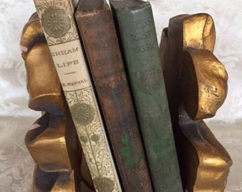 Set of 3 Antique Books - Miss Toosey's Mission & Laddie, Window in Thrums and Dream Life