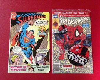 Superhero Comic Books (both books for the price)-FreeUS Shipping