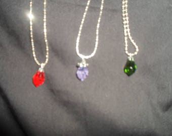 Tear drop necklace, gifts for her, one of a kind, handmade jewelry