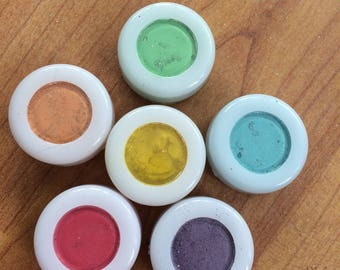 Loose pigment Eyeshadows For Use as Makeup or Colouring Clear Slime!