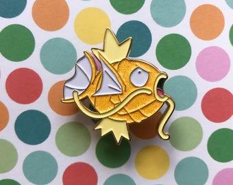 Pokemon Shiny Magikarp enamel pin