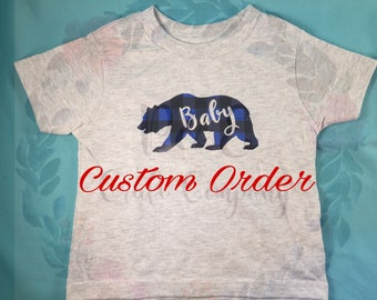 Custom Toddler Shirt // Personalized Toddler Gift -- Children Shirt -- Kid Shirt