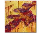 Original abstract acrylic...