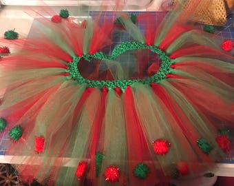 Doggy Christmas Tutu