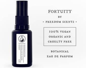 Fortuity - Organic, Vegan, Cruelty Free Botanical Eau de Parfum