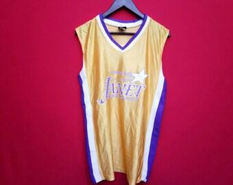 vintage Janet Jackson basketball jersey style hip hop music medium size