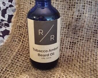Premium Tobacco Amber Beard Oil